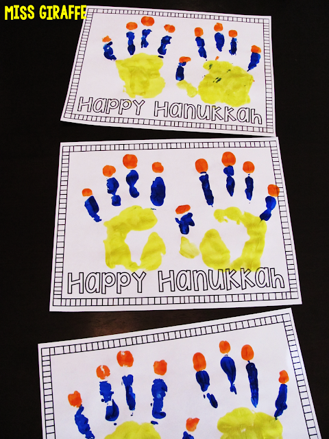 Directions For How To Do A Free Hanukkah Handprint Craft For Kids
