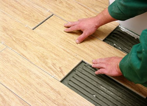 How To Install Porcelain & Ceramic Tile | Ceramic tiles, Wood tile bathroom floor, Ceramic floor tiles