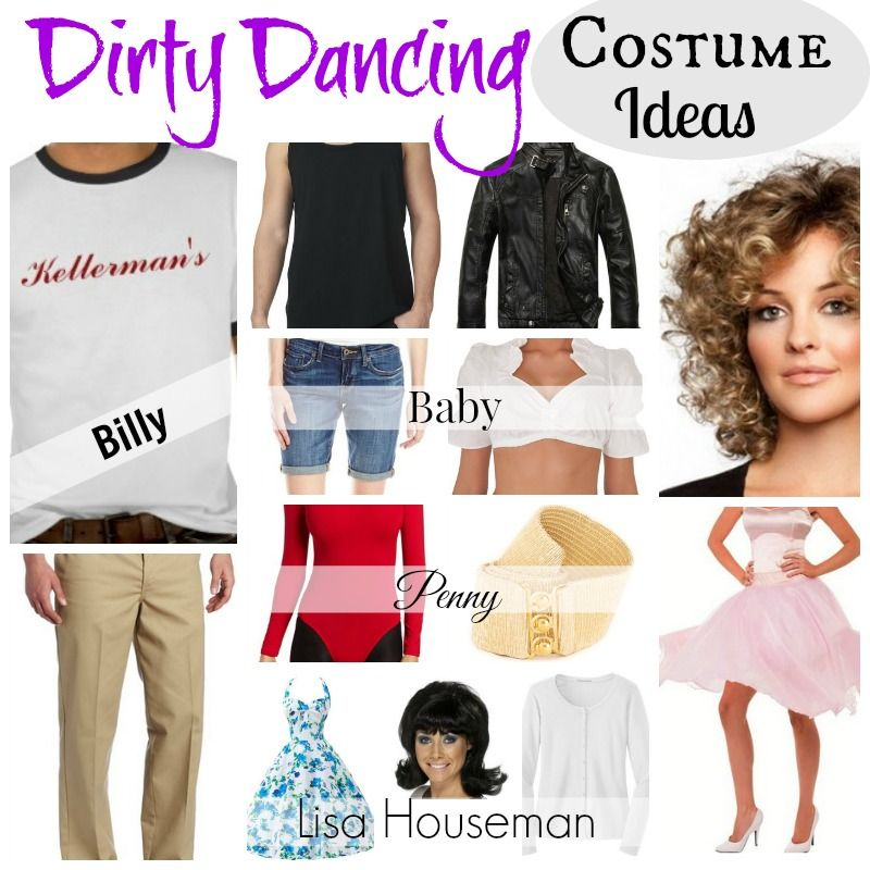 These are #DirtyDancing #CostumeIdeas for men and women. Whatu0027s great about Dirty Dancing Halloween costumes is you can go in groups or in couples.  sc 1 st  Pinterest & Dirty Dancing Costume Ideas - Have the Time of Your Life ...