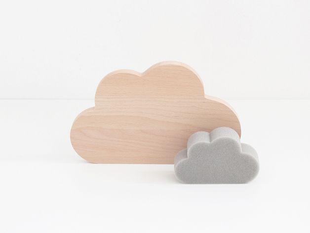 Frühstücksbrettchen - SNUG.CLOUD u. RAIN / Set - ein Designerstück von snug-studio bei DaWanda