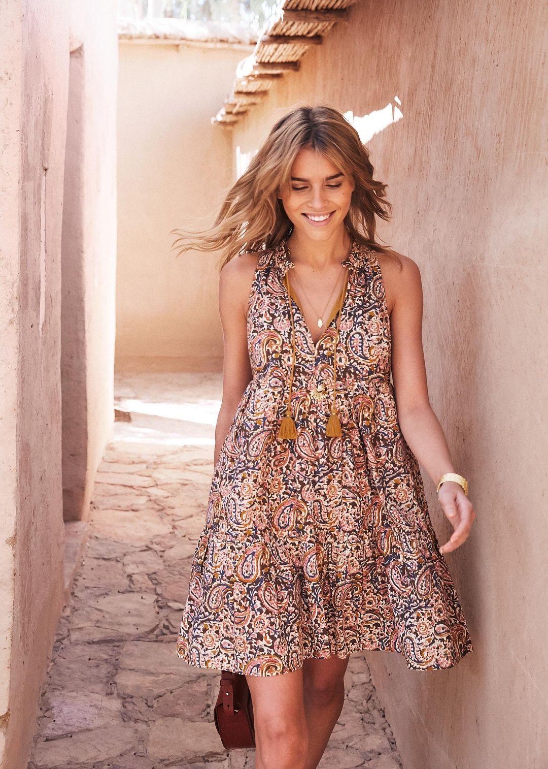 6bd230e17d4 Sézane - Robe Arielle. Ooooo this cute little dress ...