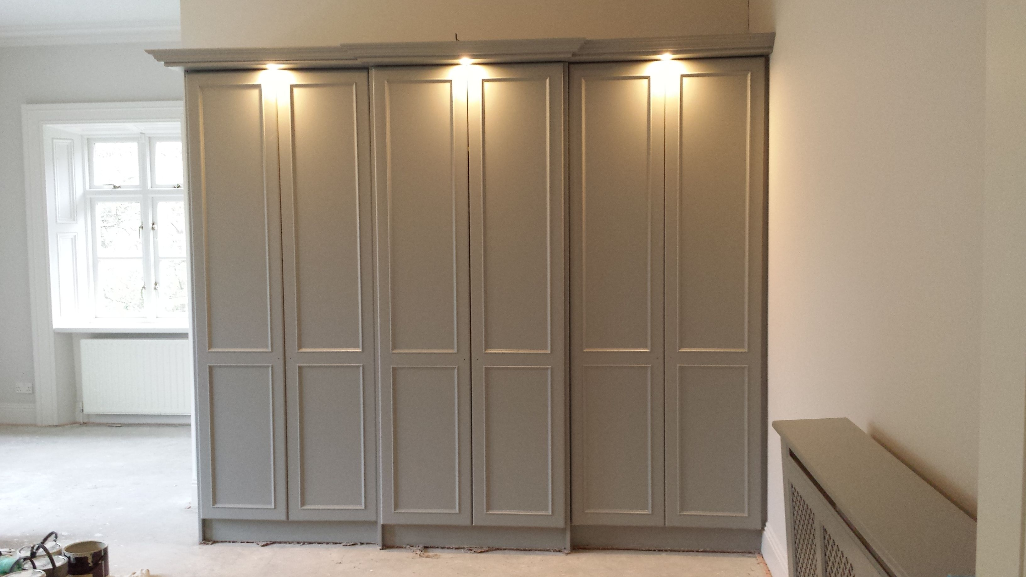 check out 5093f 50f40 Wardrobe after, painted with Farrow & Ball paint ...