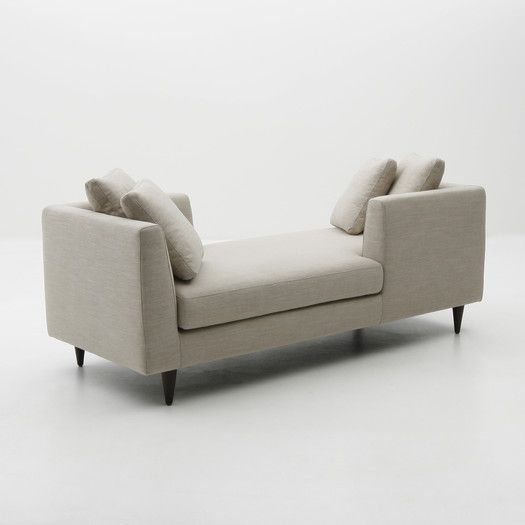 Focus One Home Elan Double End Chaise Lounge | AllModern : double ended chaise longue - Sectionals, Sofas & Couches