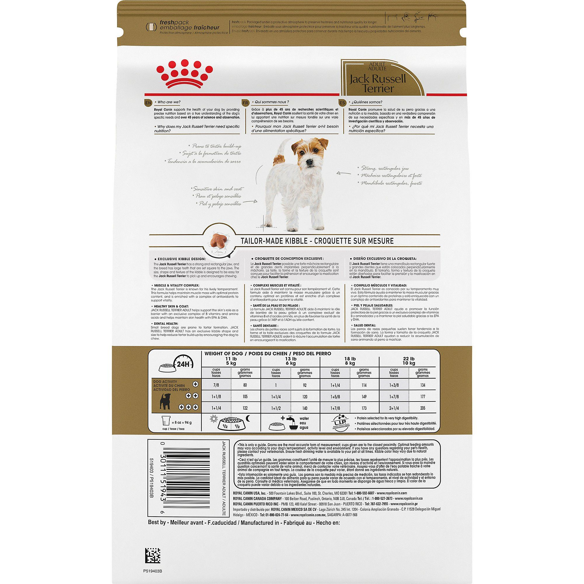 Royal Canin Breed Health Nutrition Jack Russell Terrier Adult Dry