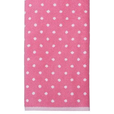 Dottie Towels S 3 Bright Pink Bath Towels Towel Bath