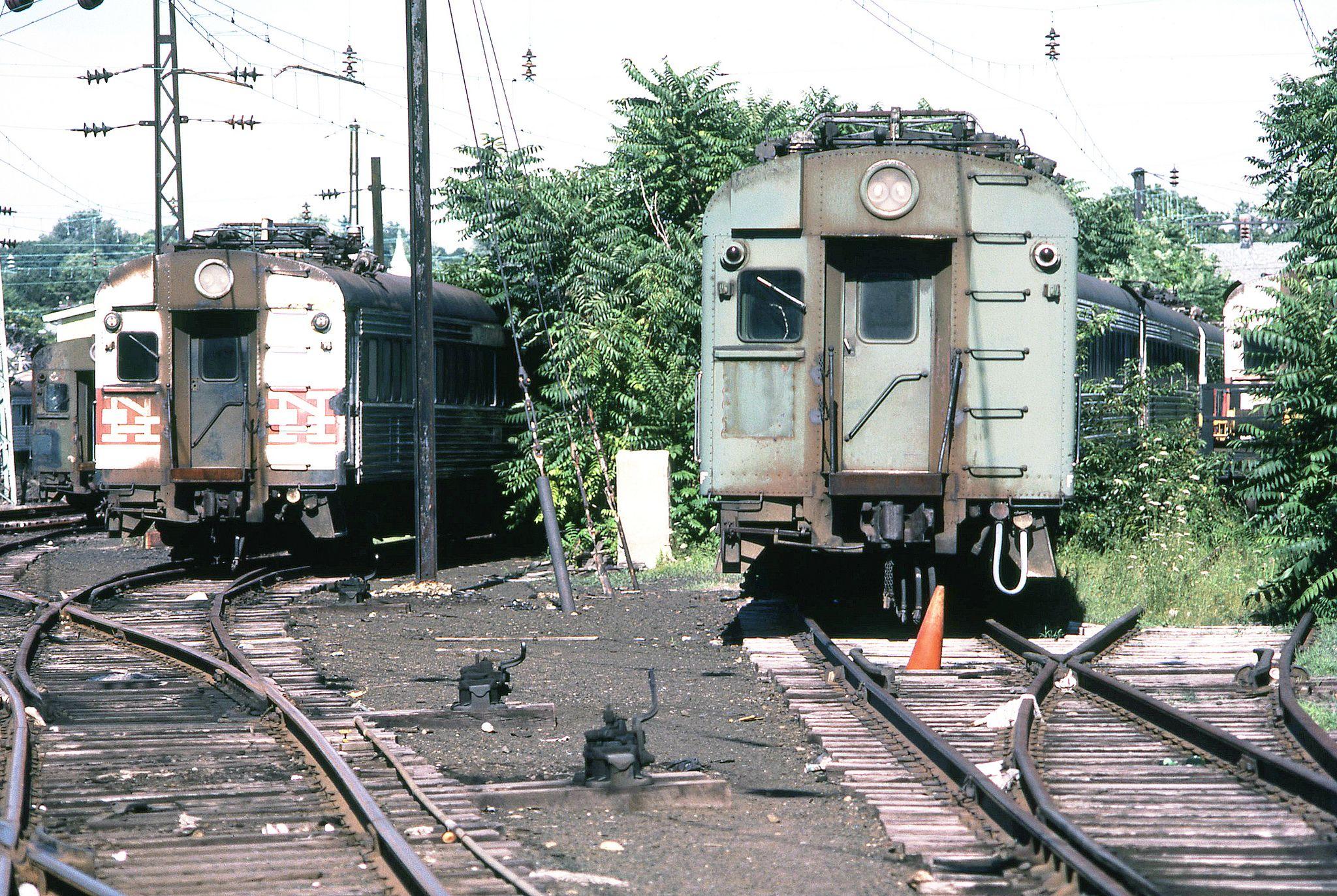 Metro north railroad former new haven railroad yard