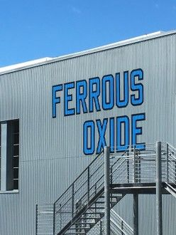 Lawrence Weiner - Beacon Exterior