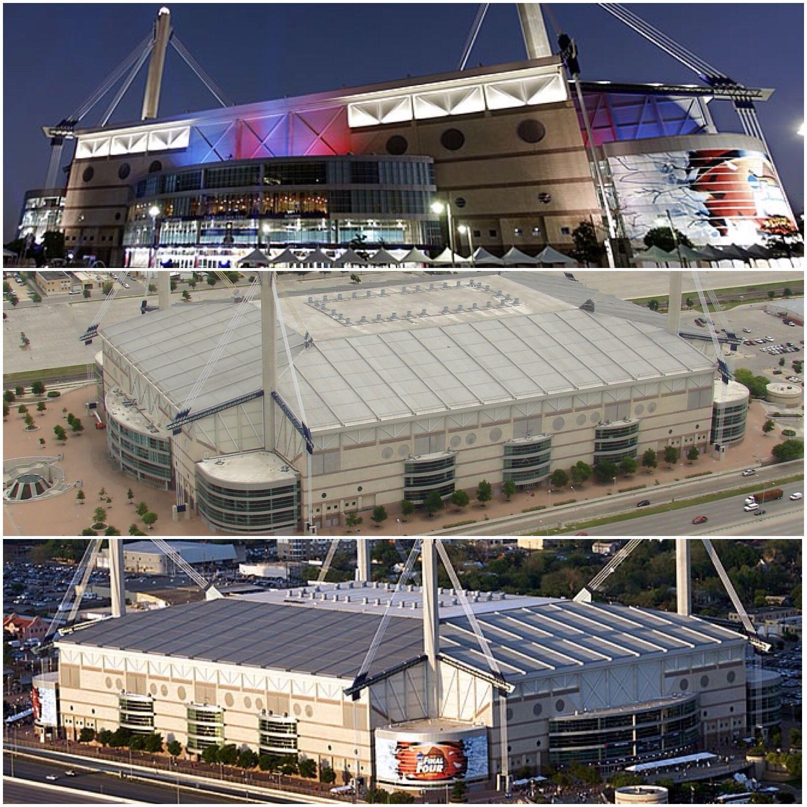 The Alamodome Is A Domed 65 000 Seat Multi Purpose Facility Used As A Football Basketball Stadium And Conv Downtown San Antonio San Antonio Spurs San Antonio