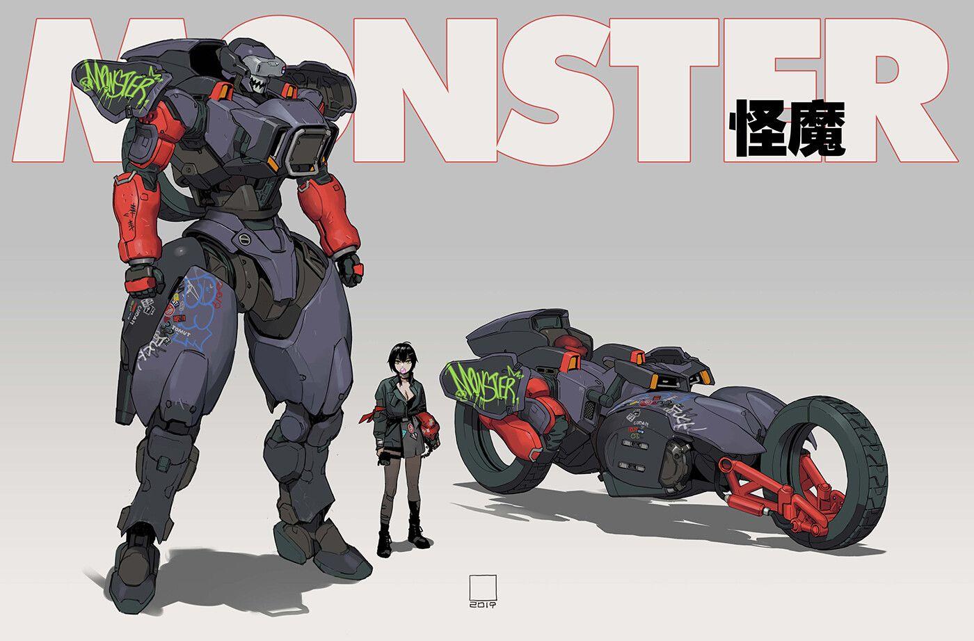 Jmes on in 2020 mecha anime robots concept mecha