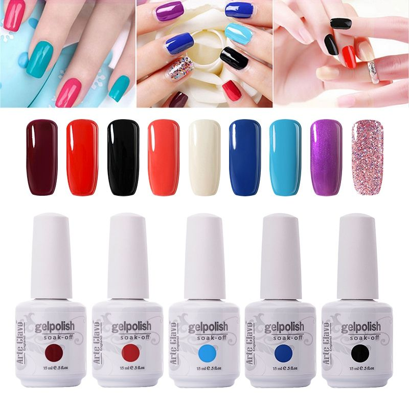 Buy Gelebrity 199 Colors 1464 15ml Nail Products Gel Polish Color UV ...