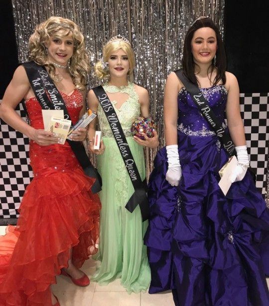 2bd23192da7 Celebration of male-Femininity: a Crossdresser 'Womanless' Beauty Pageant