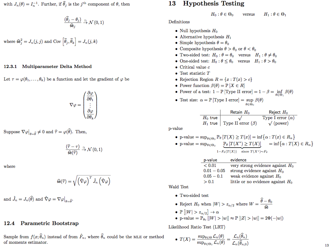 Probability and statistics cookbook probability pinterest probability and statistics cookbook biocorpaavc