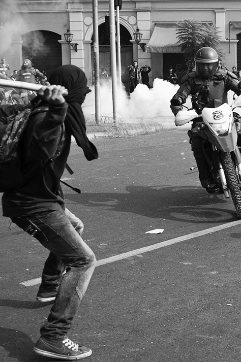 riot, police, revolution, street, protest, urban, democratization, motorcycle, city, repression, agression,