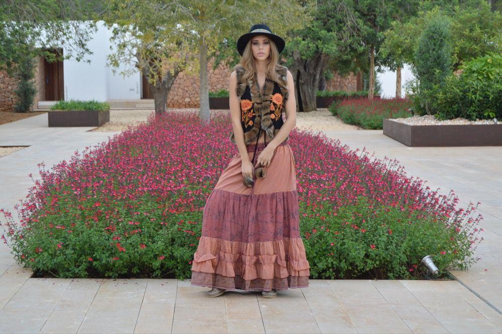 Portada falda larga chaleco ante pelo by freelove ibiza 2 - El limonero ibiza ...