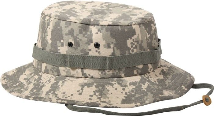 ACU Digital Camouflage Military Wide Brim Jungle Hat  97c1304a4