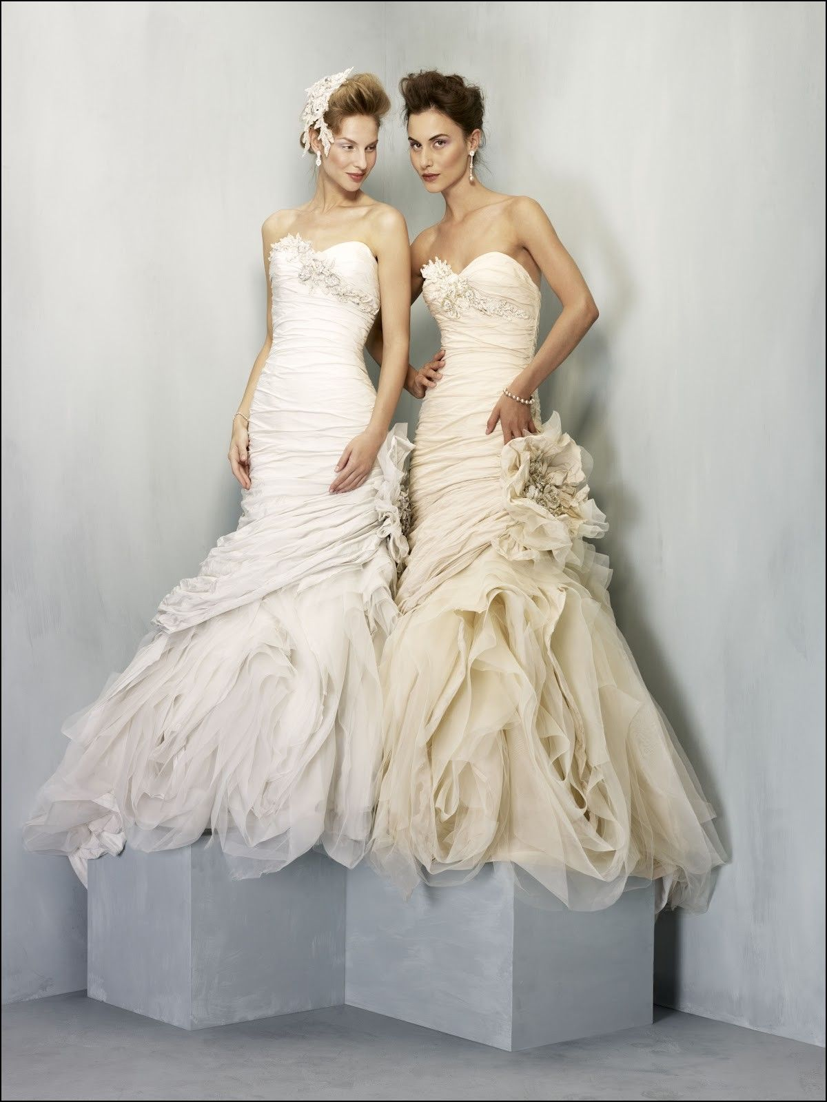 White Vs Ivory Wedding Dress Ivory Wedding Dress Bridal Dresses Wedding Dresses