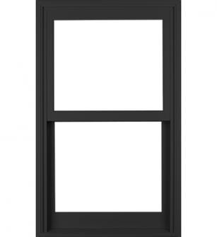 Milgard Essence Black Bean Exterior Double Hung Window Double Hung Windows Double Hung Replacement Windows Window Construction
