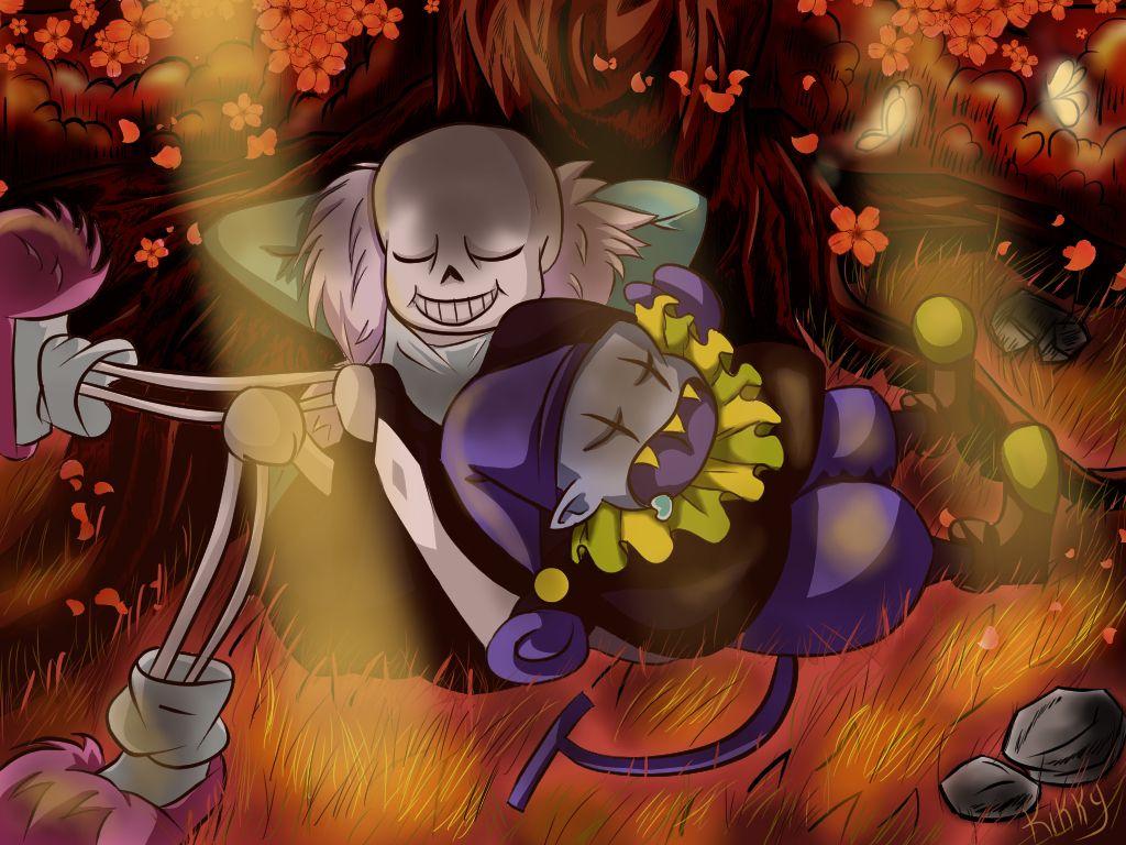 Sans And Jevil Fan Art By Cj Kikky Fan Art Art San