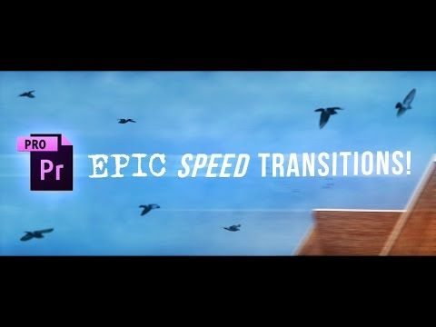SICK Premiere Pro Speed Ramp Transitions Tutorial! (How to