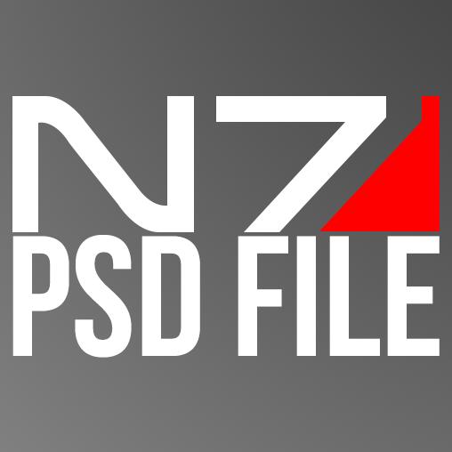 Mass Effect N7 Psd Mass Effect Psd Mass