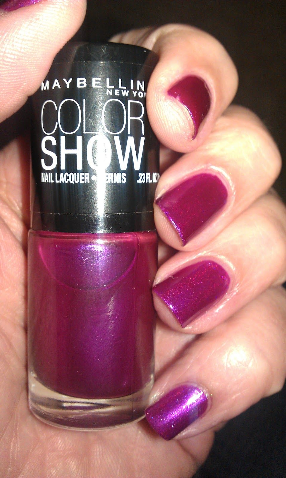 Maybelline Color Show Purple Icon BN $5