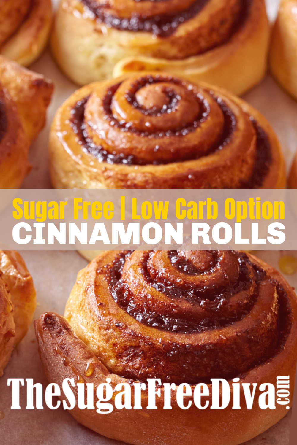 How to make homemade Sugar Free Cinnamon Rolls