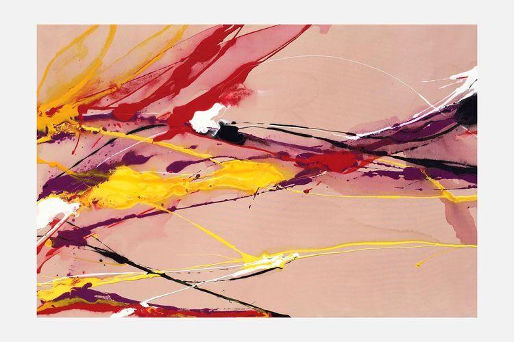 Dipinto informale di Antonio Messina. Opera d'arte in vendita presso la galleria d'arte contemporanea Fluidofiume