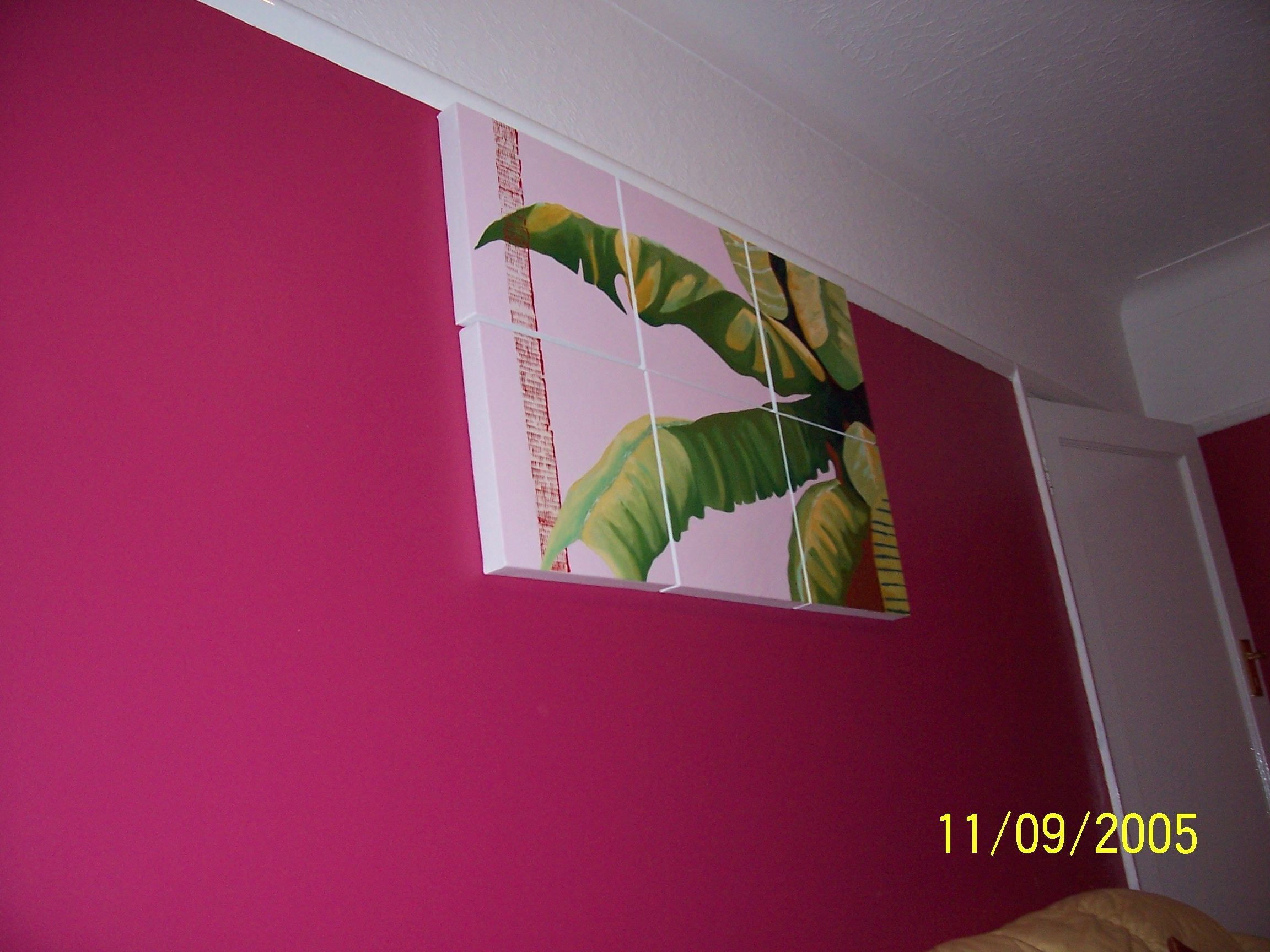 those banana leaf paintings of mine