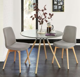Lucas Grey Round Dining Table From The Next Uk Online