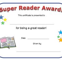 photograph regarding Printable Reading Certificates named looking at certification sertifikate Printable certificates