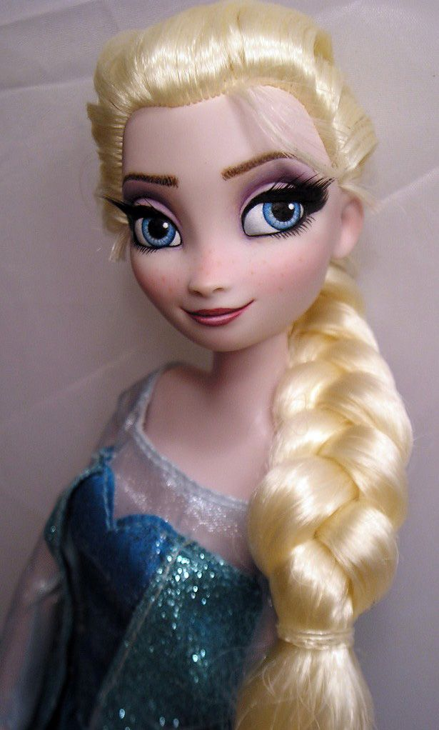 OOAK Disney Elsa Frozen Doll Repaint