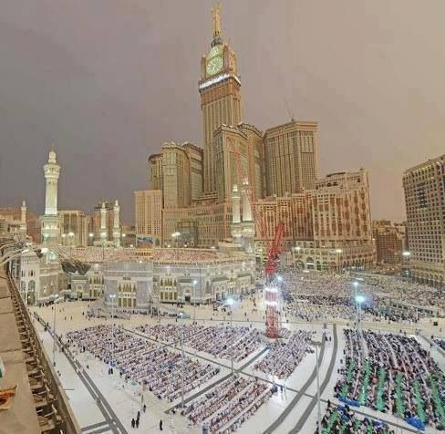 Outside view of Mecca...