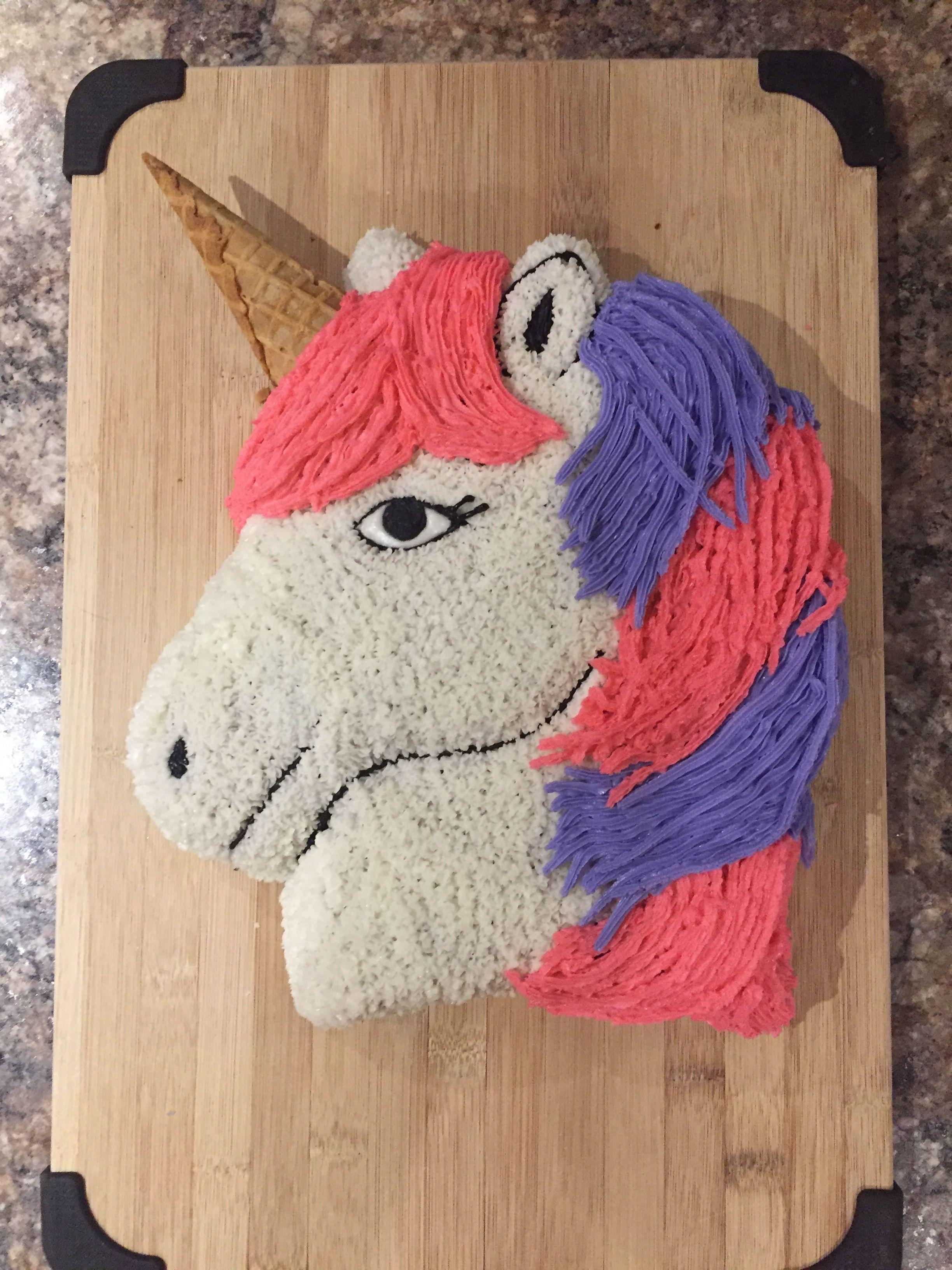 Proud Of This One Thing 2s Unicorn Birthday Cake