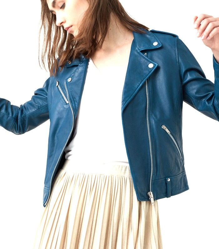 An Editor-Approved List of the 14 Best Leather Jackets via @WhoWhatWearUK