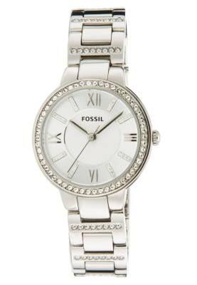 1dbdc5b662ad Fossil Virginia Reloj Silver Coloured Relojes Online Para Mujer Las  tendencias y relojes de mujer van juntos de la mano