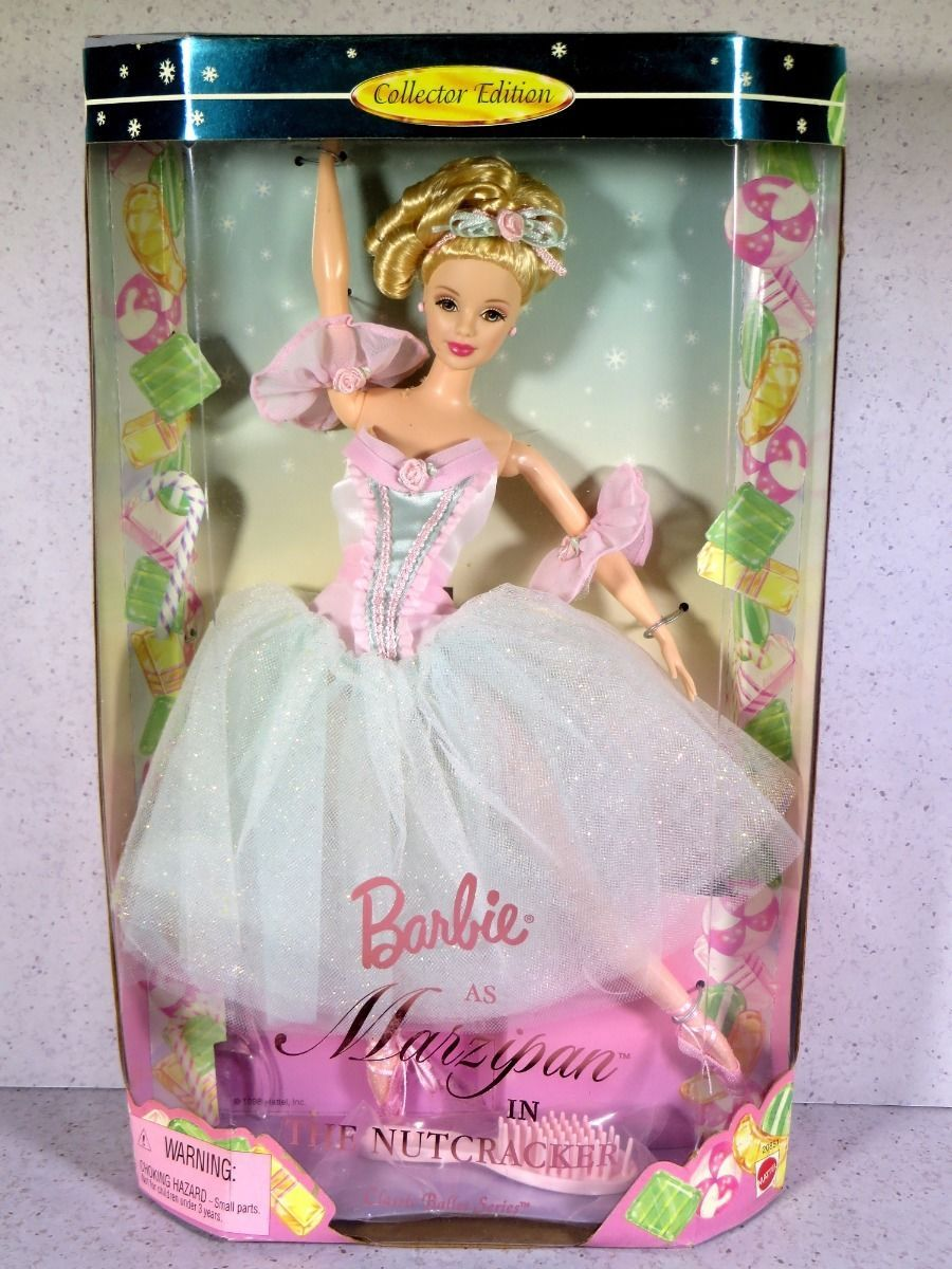 nib barbie doll 1998 as marzipan in the nutcracker classic. Black Bedroom Furniture Sets. Home Design Ideas