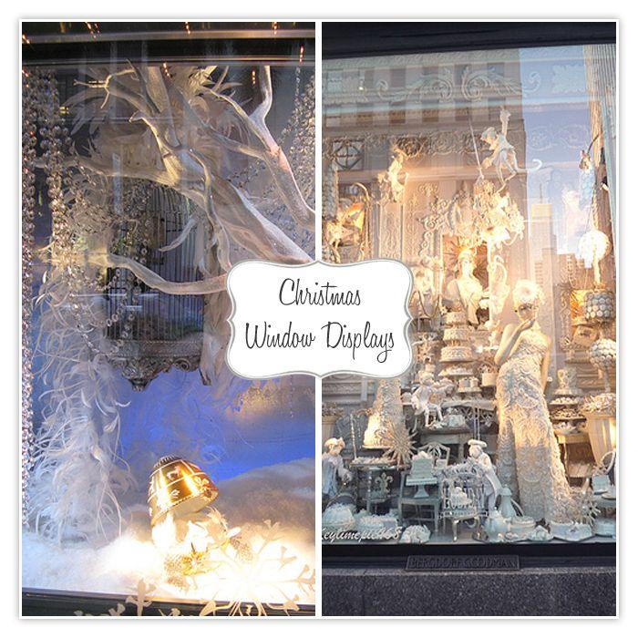 christmas window display - Bergdorf's