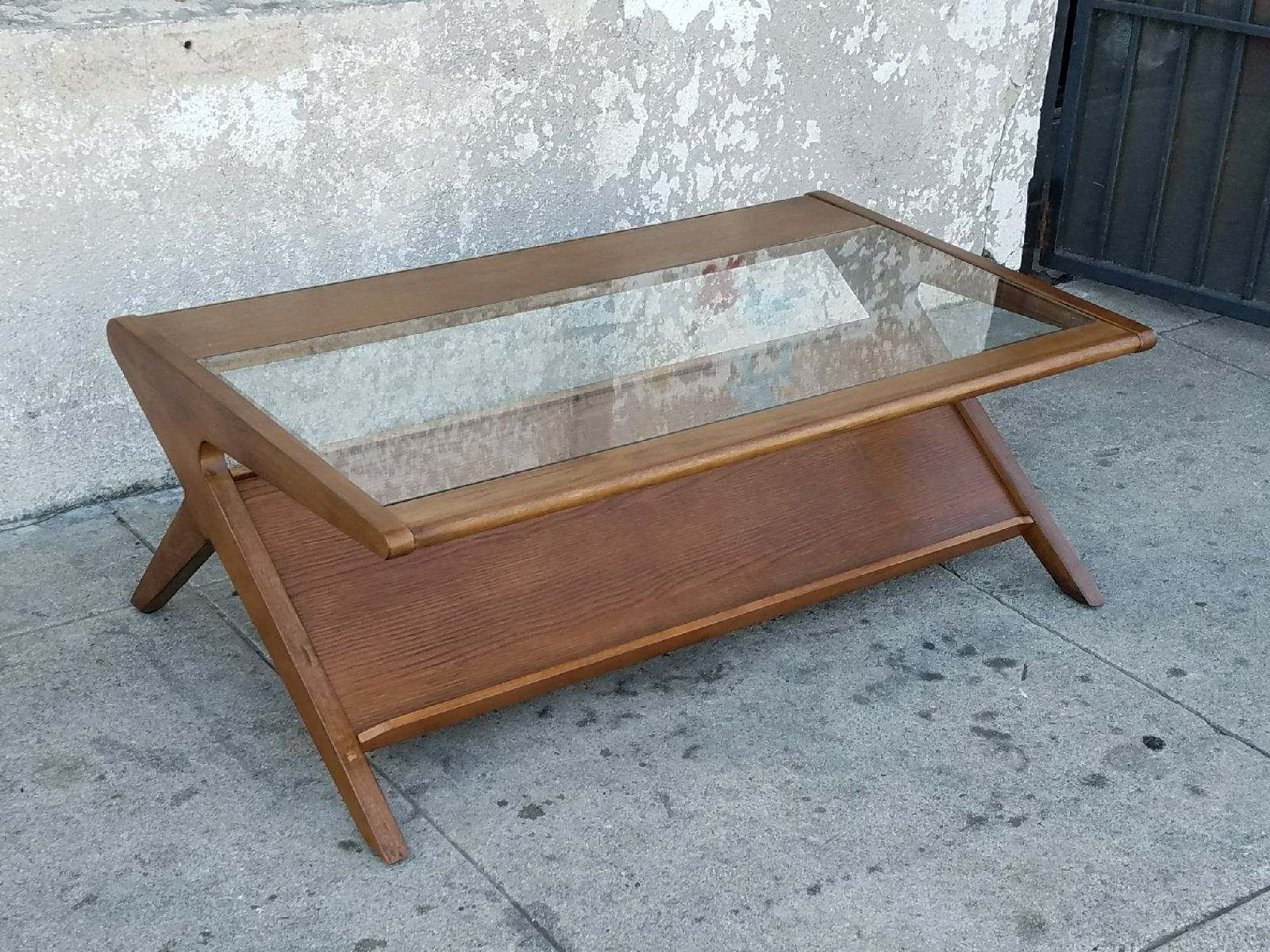 The Rudy Magazine Coffee Table W Tempered Glass Coffee Table Table Tempered Glass [ 1200 x 1600 Pixel ]