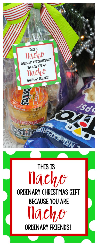 Funny Christmas Gift Ideas for the Neighbors: Nacho Gift