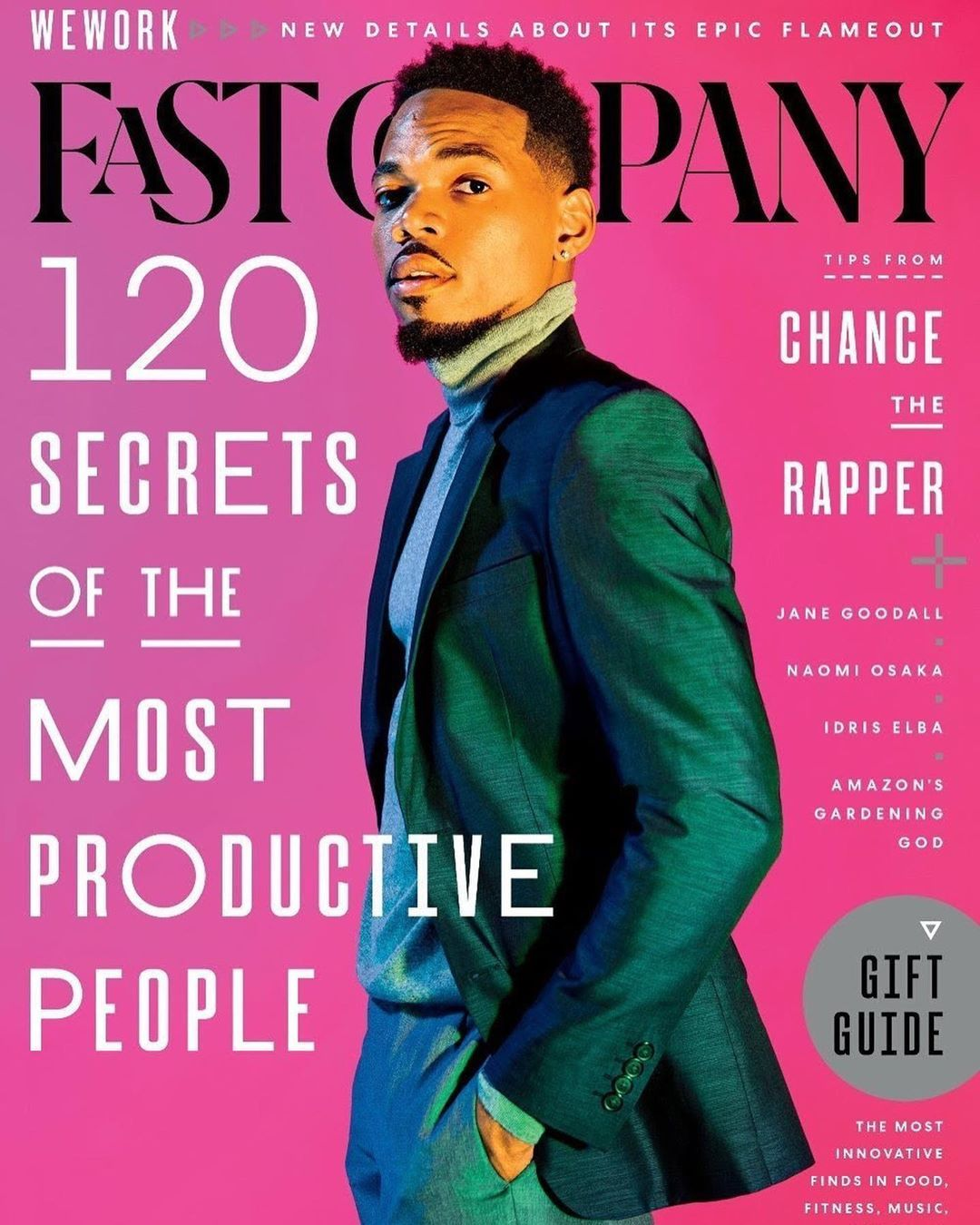 Black Magazine Covers On Instagram Chancetherapper By Mamadivisuals For Fastcompany Blackmagcovers Black Fast Company Magazine Chance The Rapper Rapper