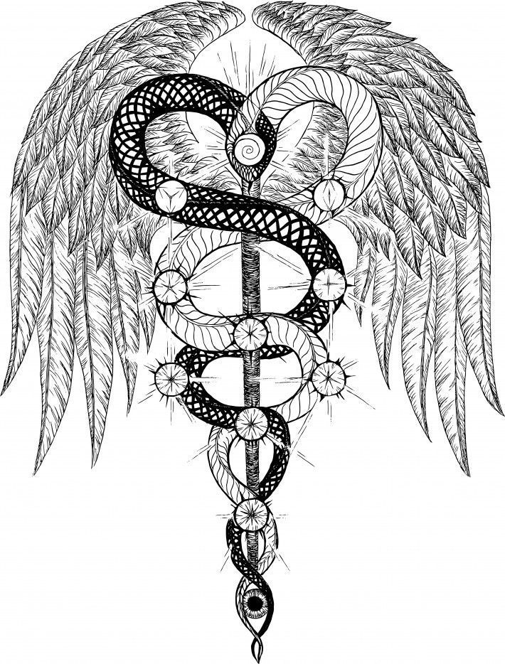 Egyptian Caduceus Google Search Tattoo Ideograms And Symbols