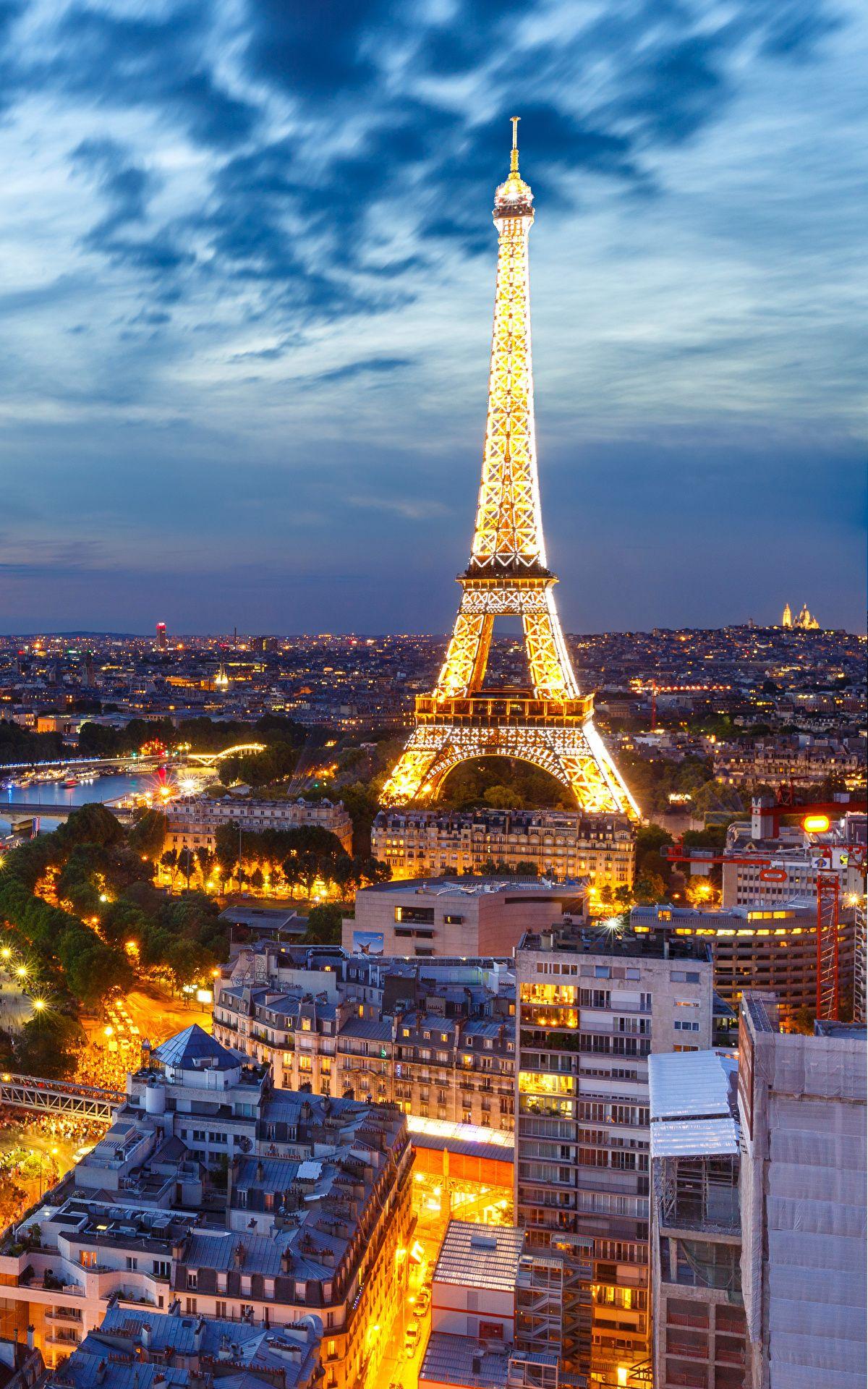 Portrait Wallpaper X Hd Best Honeymoon Destinations Eiffel Tower At Night Paris At Night
