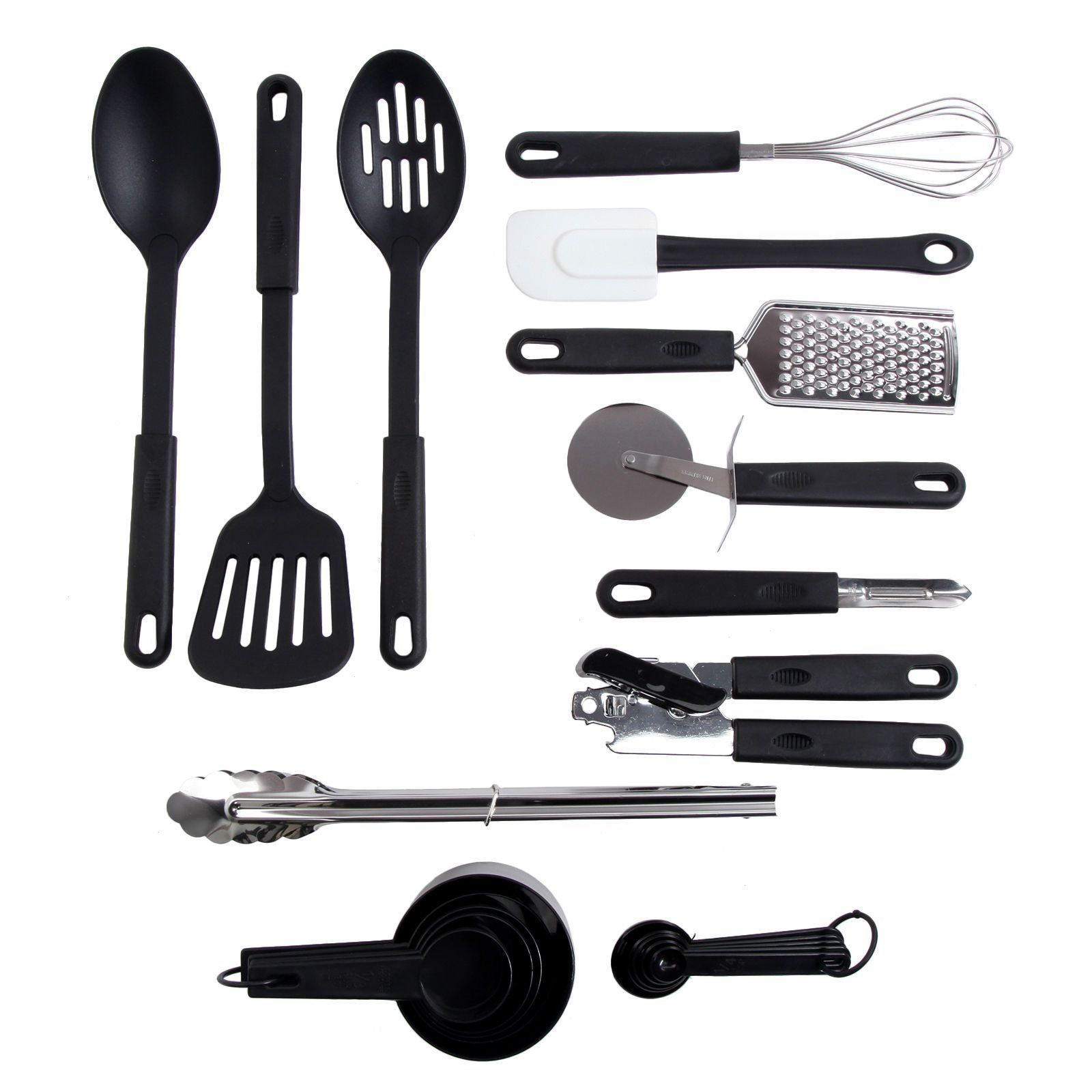 Gibson Home Total Kitchen 20-Piece Tool/Gadget Prep N' Serve Combo Set