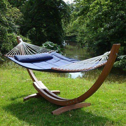 Delightful #Garden #Hammock From #Posh #Garden #Furniture Admired.. Wickerparadise.
