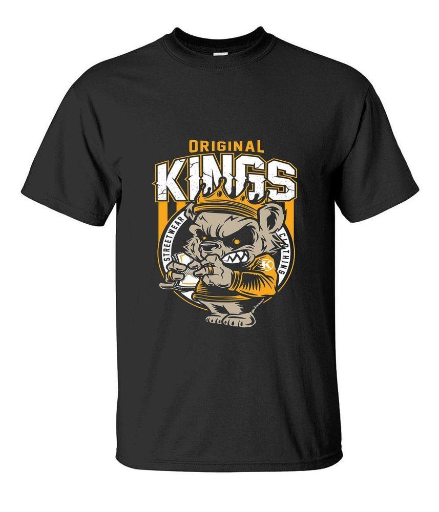 bccf5d273a19 Original Kings Black GILDAN T-Shirt Reprint Size S - 2XL #fashion #clothing