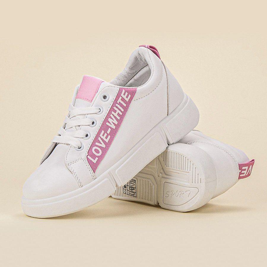 Jumex Wygodne Obuwie Sportowe Biale Rozowe Sneakers Puma Sneaker Shoes