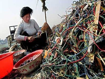 E-waste Recycling is Serious Health Threat in China