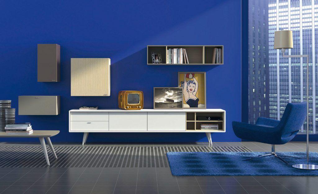 Asombroso Muebles Retro Salón Ideas - Muebles Para Ideas de Diseño ...