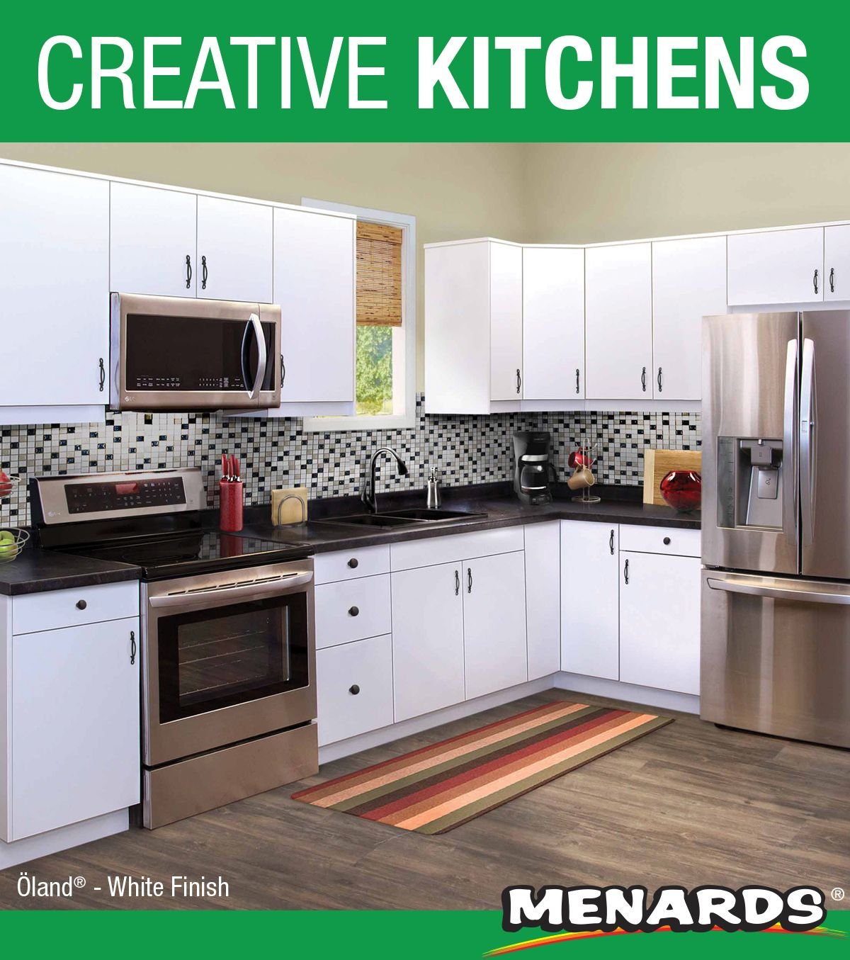 Klearvue Cabinetry Is A Menards Exclusive Cabinetry Program That Gives You The Look And Feel Of Custom Menards Kitchen Complete Kitchens Kitchen Decor Pictures