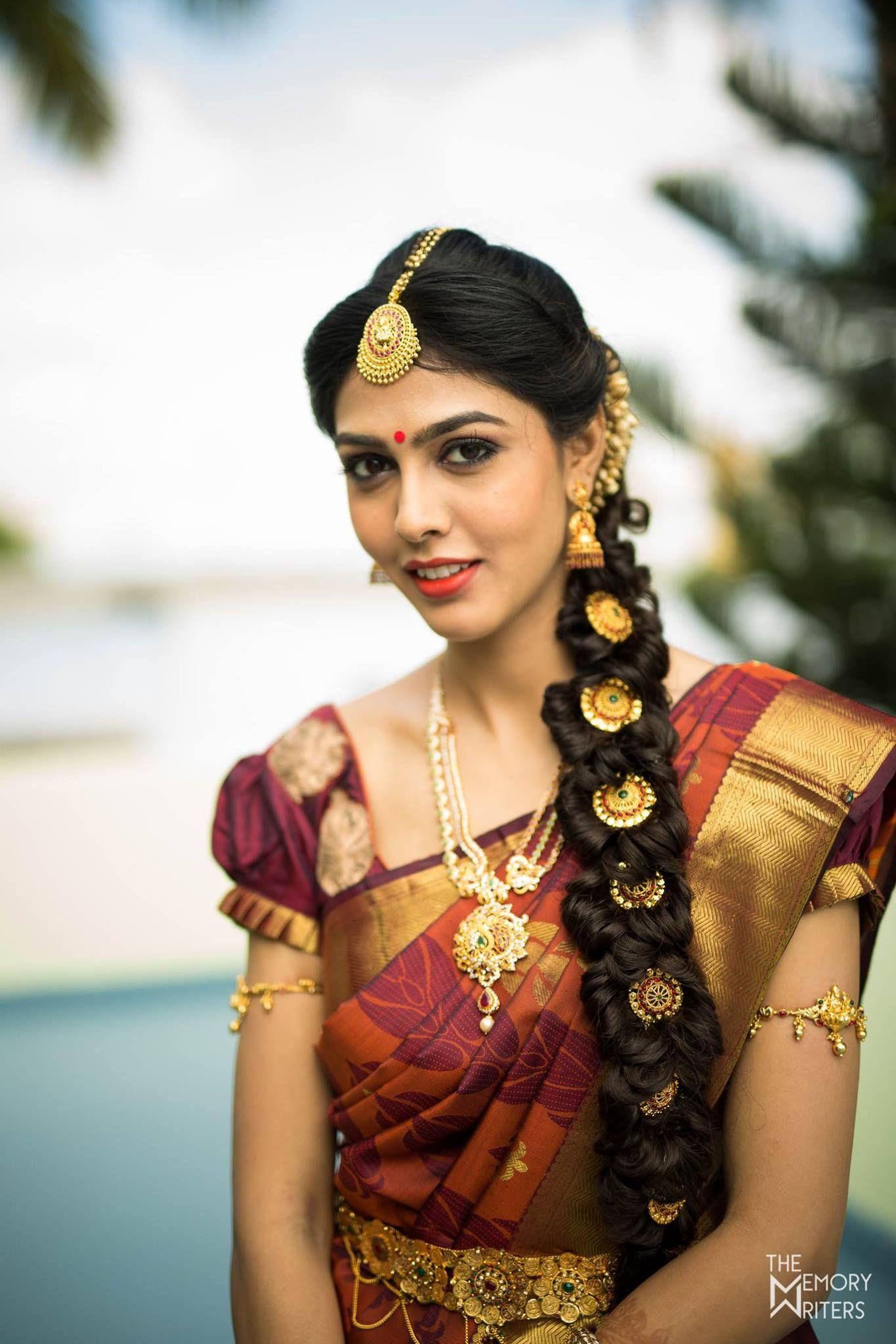 bridal hairstyle | poojadai | veni | bridal inspiration | dolls